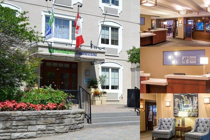 Holiday Inn Express & Suites Tremblant photo collage