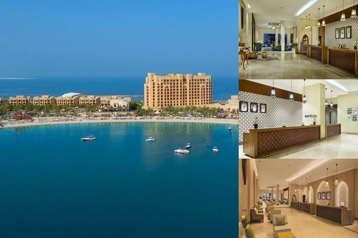 Doubletree by Hilton Resort & Spa Marjan Island photo collage