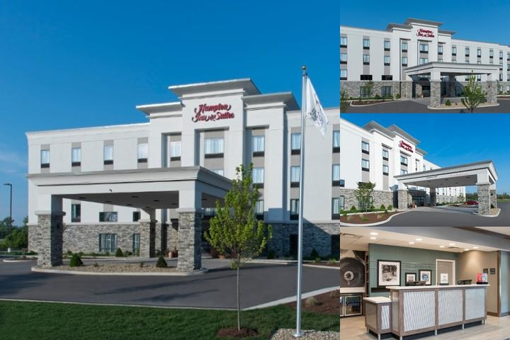 Hampton Inn & Suites Michigan City photo collage