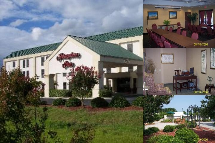 Hampton Inn Edenton photo collage