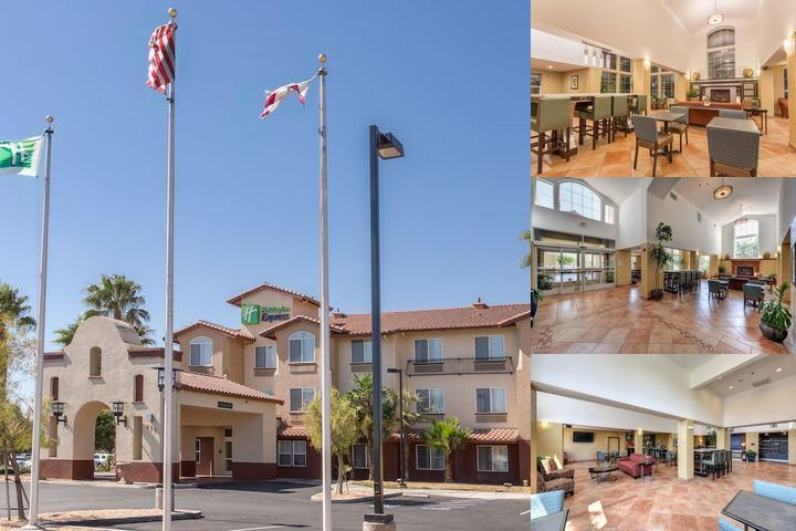 Holiday Inn Express Hotel & Suites Manteca photo collage