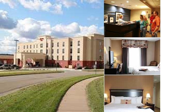 Hampton Inn Topeka photo collage