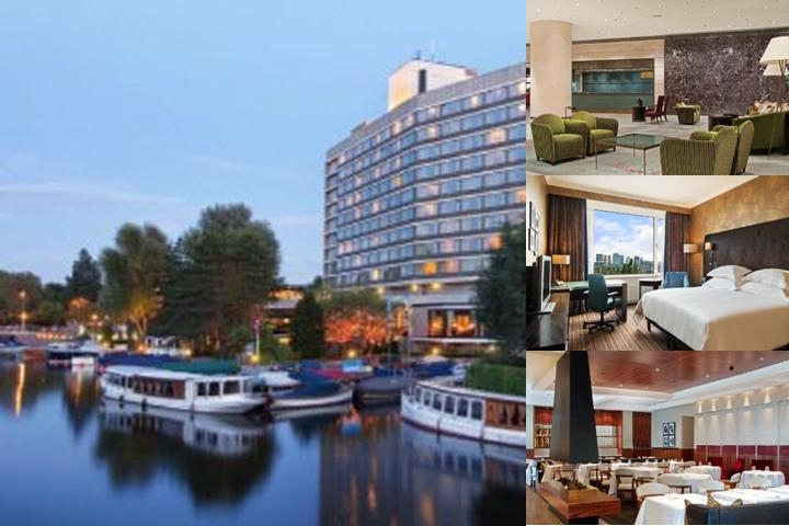 Hilton Amsterdam photo collage