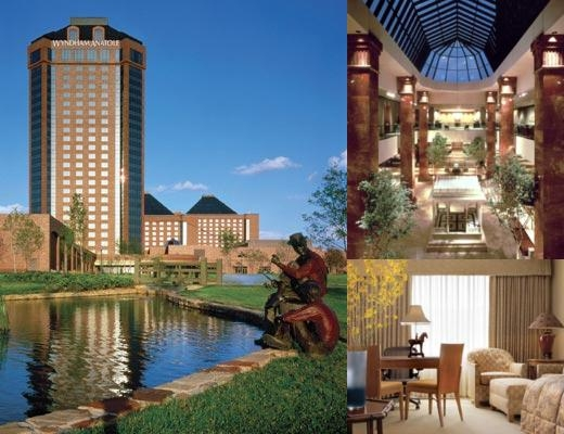 Hilton Anatole photo collage