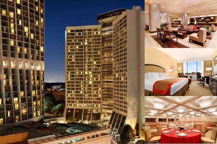 Hilton Atlanta photo collage
