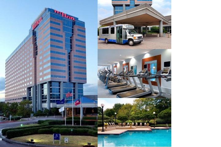 Hilton Atlanta Airport photo collage