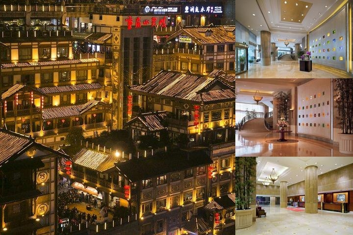 Hilton Chongqing Hotel photo collage