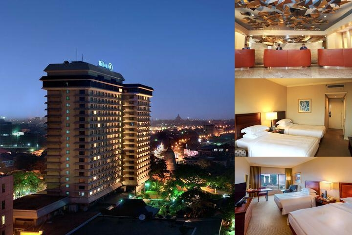 Hilton Colombo photo collage