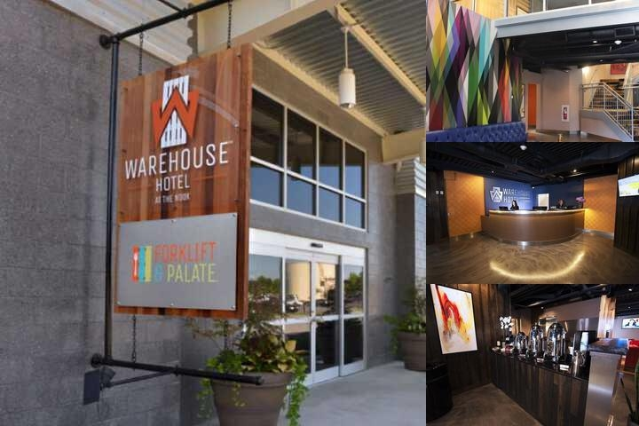 Warehouse Hotel photo collage