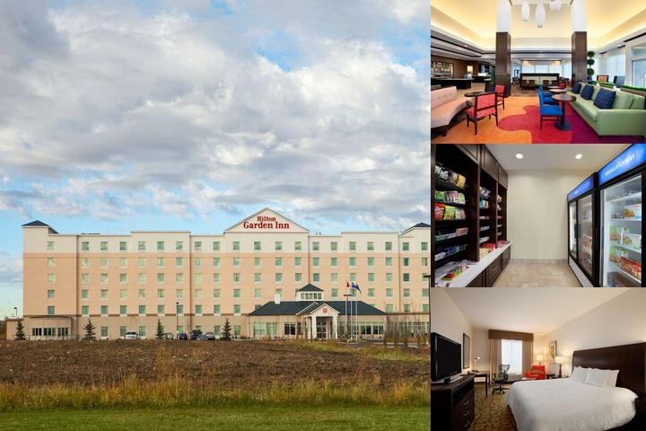 Hilton Garden Inn Edmonton International Airport photo collage
