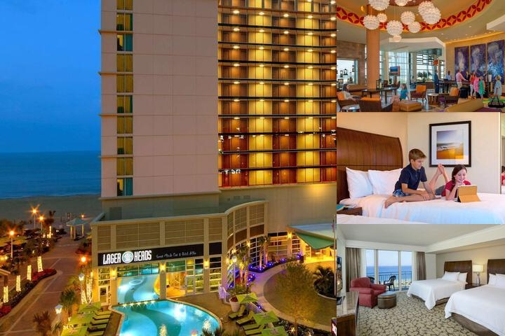 Hilton Garden Inn Virginia Beach Oceanfront photo collage
