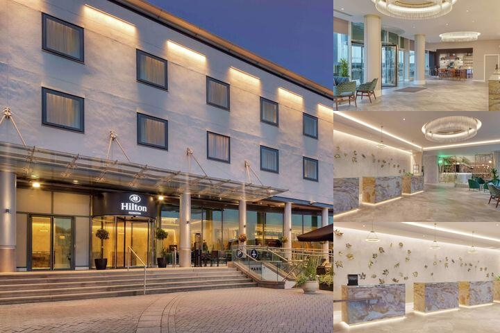 Hilton London Angel Islington photo collage
