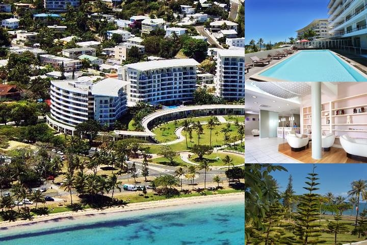 Hilton Noumea La Promenade Residences photo collage