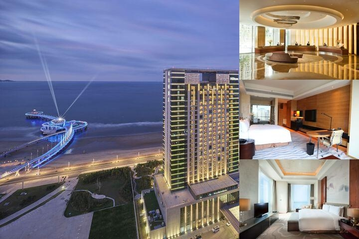 Hilton Yantai Golden Coast photo collage
