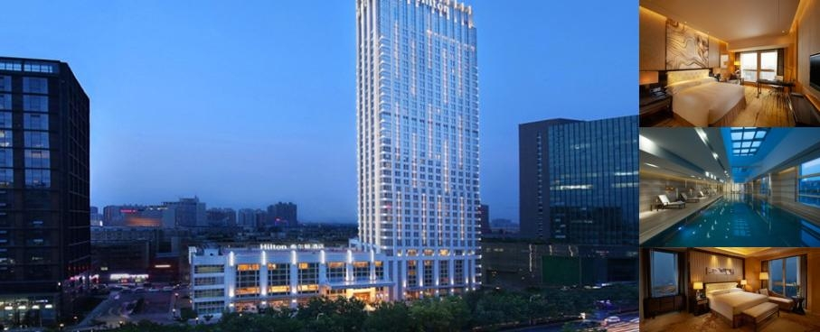 Hilton Zhengzhou photo collage