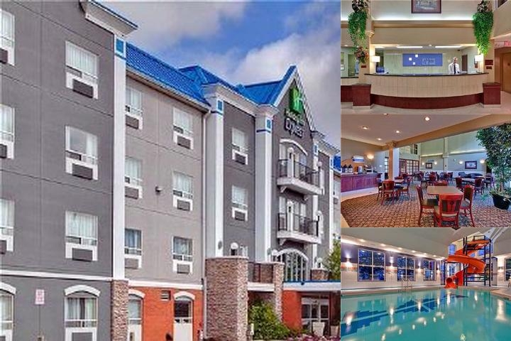 Holiday Inn Express Hotel & Suites Calgary S Macleod Trail S photo collage