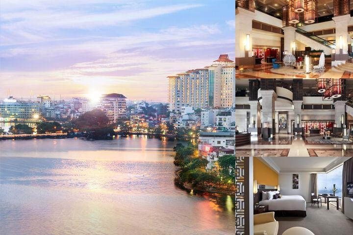 Pan Pacific Hanoi photo collage