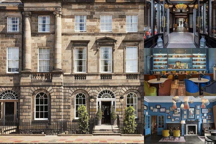 The Roxburghe Hotel photo collage