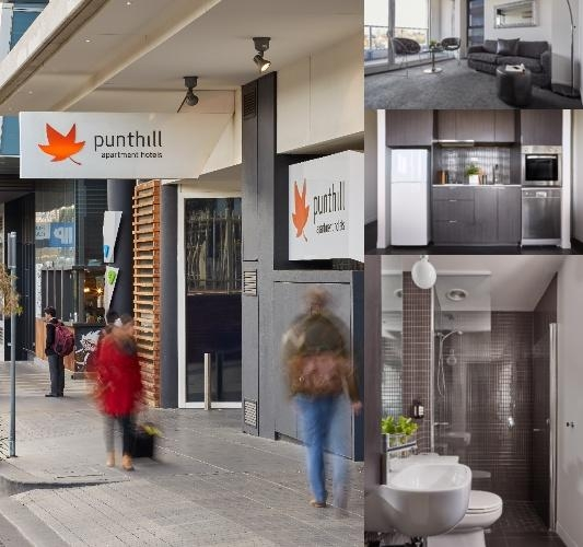 Punthill Apartment Hotel South Yarra Grand photo collage