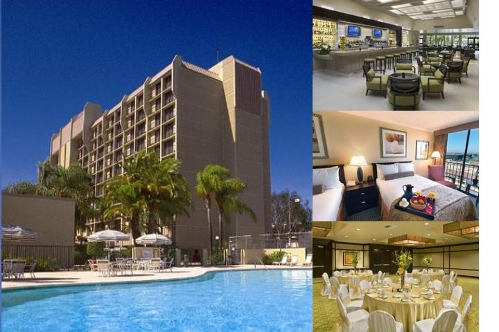 Hilton Irvine Orange County Airport photo collage