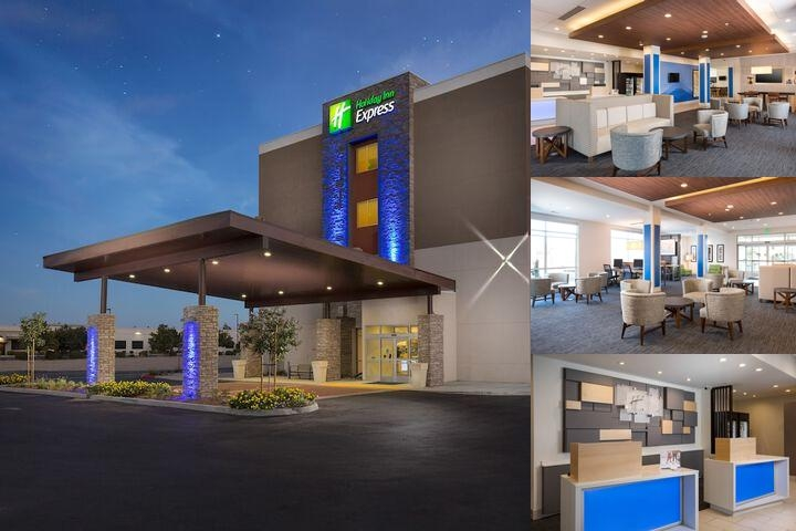 Holiday Inn Express & Suites Visalia Ca photo collage