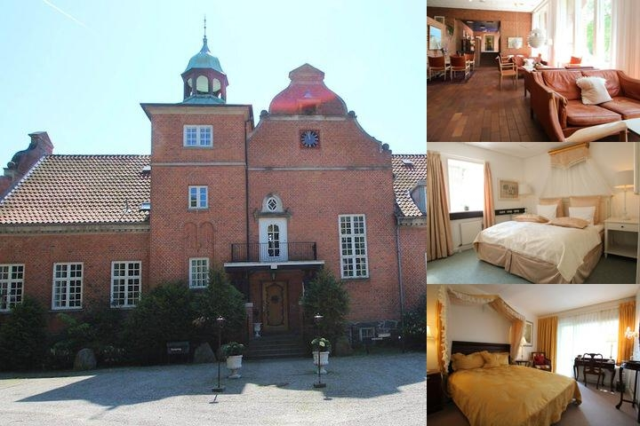 Sauntehus Slotshotel photo collage