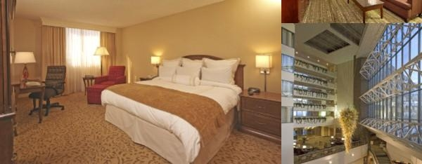 Marriott University Park Hotel photo collage