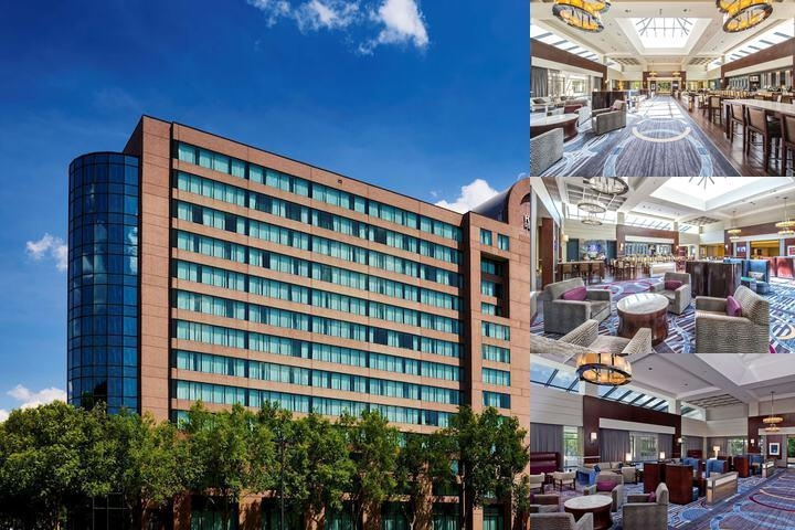 Hyatt Regency Fairfax photo collage
