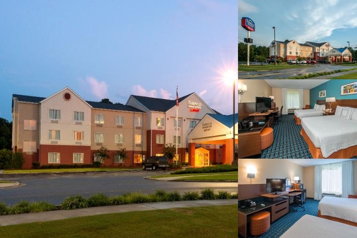 Fairfield Inn & Suites by Marriott Jacksonville Nc photo collage