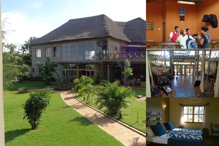 Weru Weru River Lodge photo collage