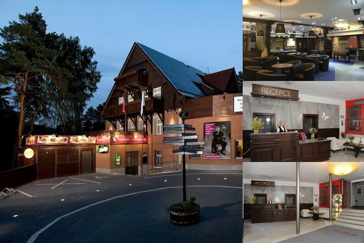 Hotel Berg photo collage