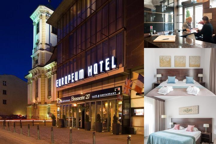 Hotel Europeum photo collage