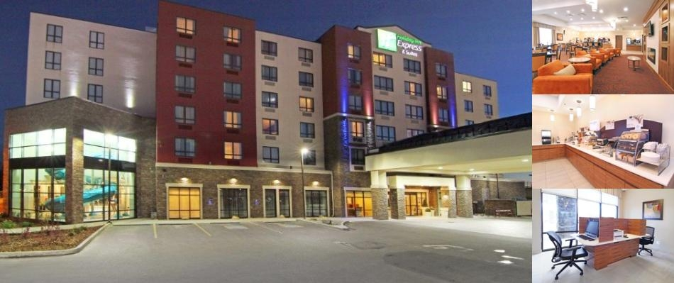 Holiday Inn Express Suites Calgary University Photo Collage