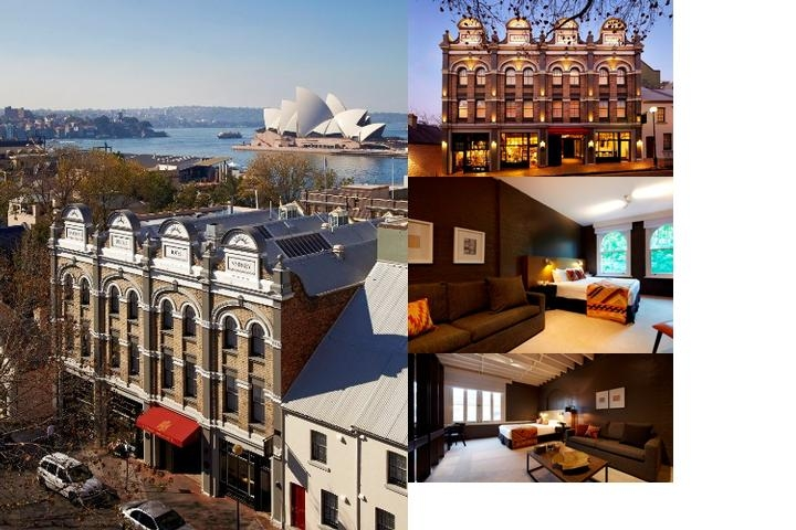 Harbour Rocks Hotel Sydney Mgallery by Sofitel photo collage