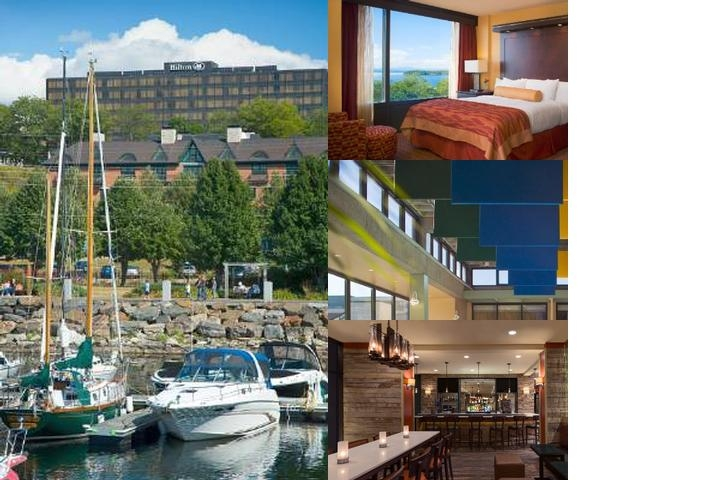 Hilton Burlington photo collage