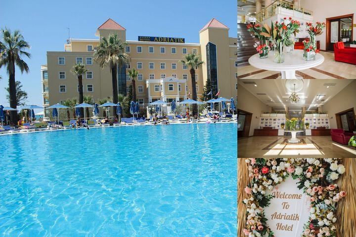 Adriatik Hotel photo collage