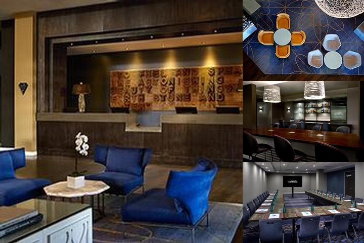 Le Meridien Delfina Santa Monica photo collage
