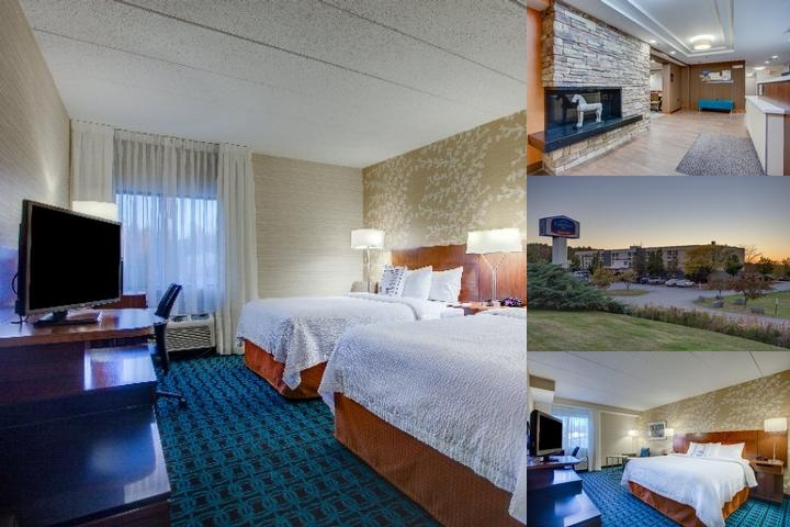Fairfield Inn Burlington Williston photo collage
