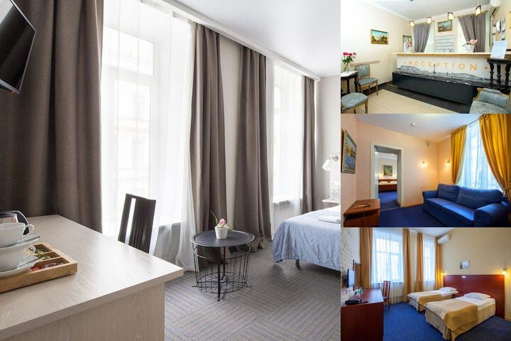 Nevsky Aster Hotel photo collage