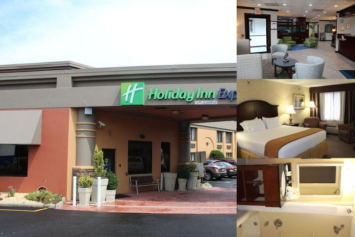 Holiday Inn Express Paramus Enterance
