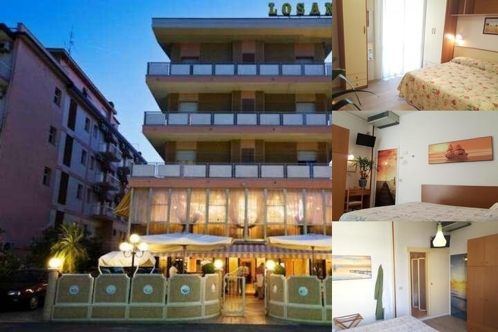 Hotel Losanna photo collage