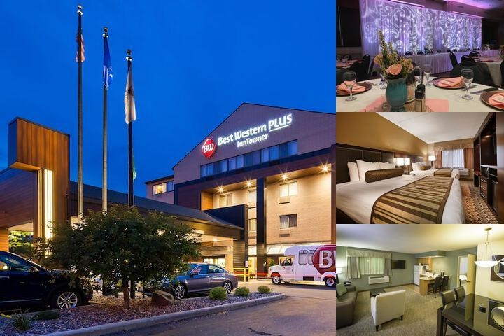 Best Western Plus Inntowner Madison photo collage