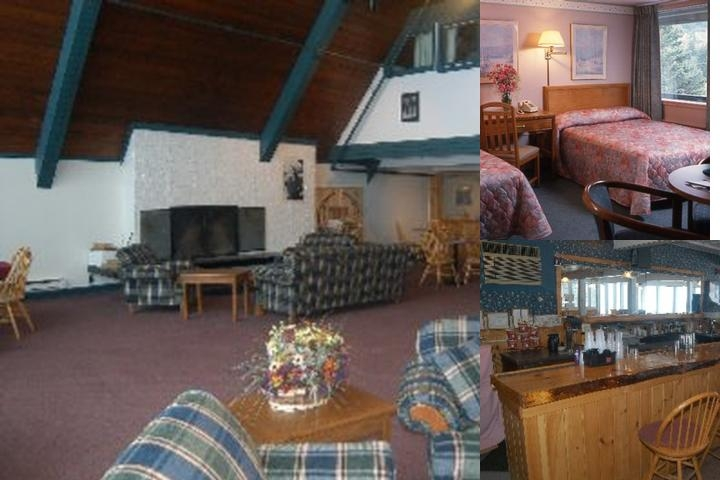 Snow Lake Lodge photo collage