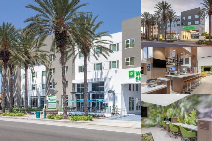 Wyndham Garden Anaheim photo collage