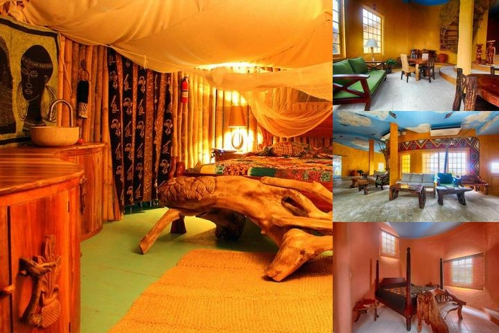 Great Huts Resort photo collage