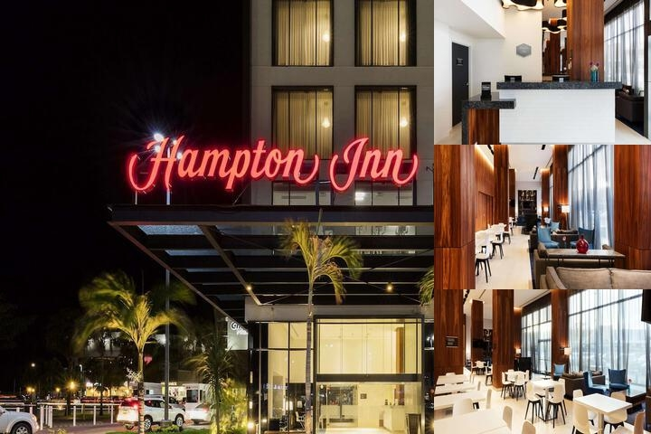 Hampton Inn Cancun photo collage