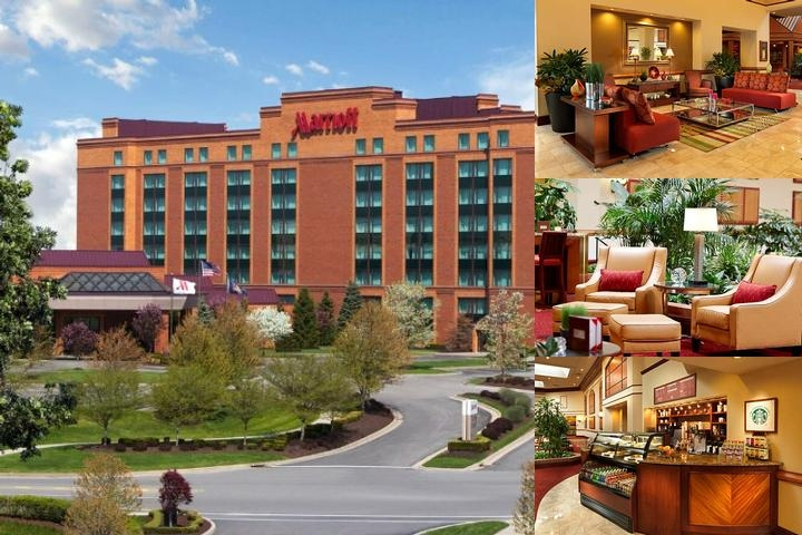 Pittsburgh Marriott North photo collage