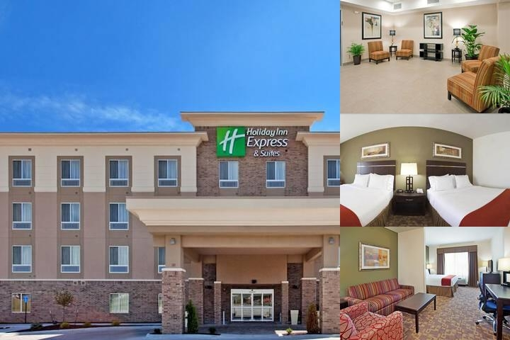 Holiday Inn Express & Suites Topeka North photo collage