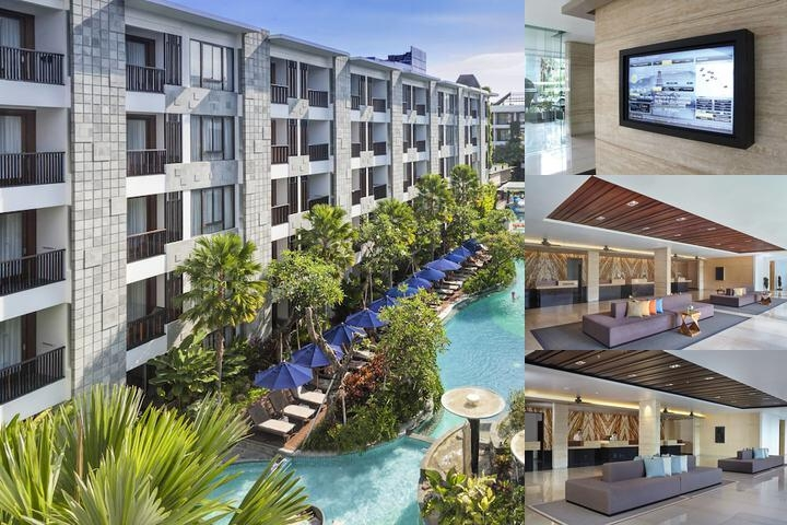 Courtyard by Marriott Bali Seminyak Resort photo collage