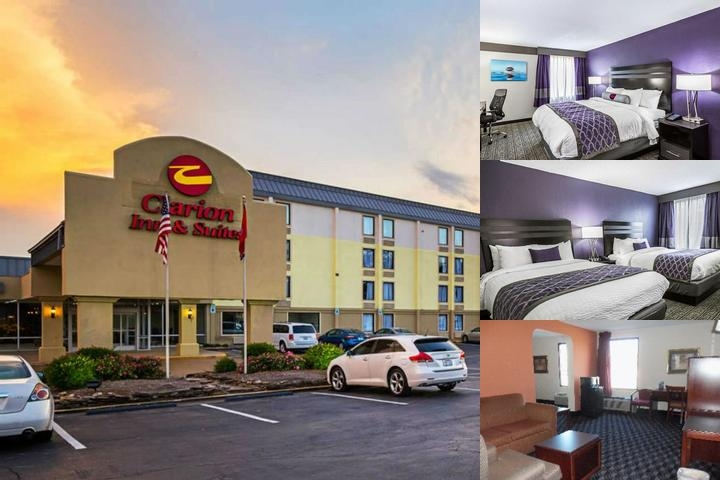 Clarion Inn & Suites Near Knoxville Downtown photo collage
